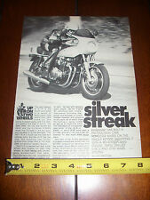 1978 KAWASAKI Z1R  - ORIGINAL ARTICLE Z1-R SILVER STREAK