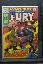 Sgt Fury and His Howling Commandos King Size Special Annual #7 Marvel 1971 8.0