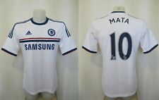 Chelsea London 2013/2014 Away #10 Mata Sz M Adidas football shirt soccer jersey