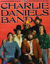 The Charlie Daniels Band 1982 The Devil Went Down To Georgia Cbs Promo Poster