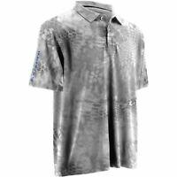 Huk Men's Kryptek Icon Yeti Royal Small Polo Short Sleeve Shirt