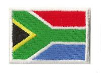 Ecusson petit patch patche thermocollant drapeau Afrique Sud 45x30 mm