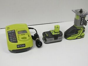 RYOBI One+ 18V Cordless Palm Trim Router Kit w/ Battery & Charger