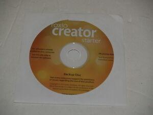 New Roxio Creator for Windows CD DVD Burner Software Re-install disc