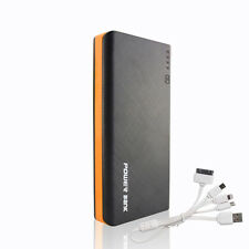 50000mAh Portable 4USB Battery Charger LED Mobile Power Bank For Universal Phone