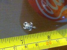 Tortue TERRAPIN Tiny Métal Petit Charm Pendentif Animal