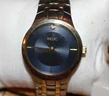 Authentic Relic Brand By Fossil Watch Zr77104 WORKS F73