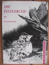 """Die Neue Brehm-Bücherei """"Die Feldlerche"""" Band 323 (1963)"""
