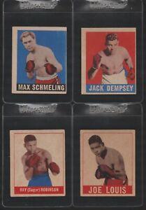 1948 Leaf Boxing Complete Set Joe Louis Sugar Ray Robinson Jack Dempsey PSA SGC