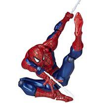 Kaiyodo Yamaguchi No.002 Spider-man Action Figure Revoltech Nave