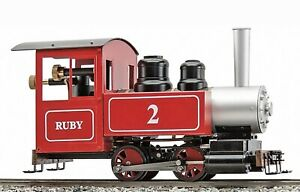 Accucraft AC77-013 Ruby #2, Red, Live-Steam - Kit (Bausatz)