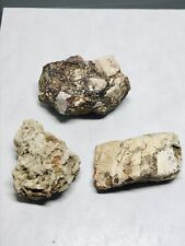 LOT OF 3 ROCKS, Minerals, Collection