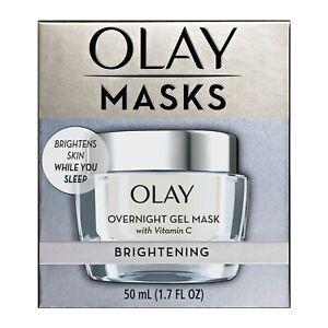 Olay Mask Brightening Overnight Gel Mask With Vitamin C 1.7 oz