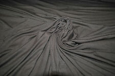 Hemp Spandex Jersey Knit Eco-Friendly Fabric by the Yard Made in USA Bar Brown