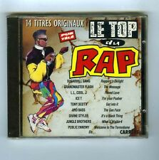 CD (NEUF) LE TOP DU RAP 14 TITRES ORIGINAUX