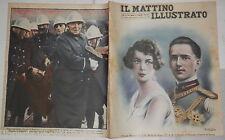 1929 Maria Jose Umberto di Savoia fidanzati Urbe Alfredo Oriani Brahms De Rosa