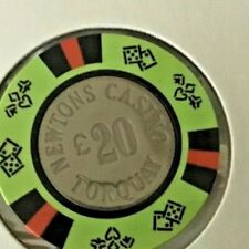 Newton's Casino Torquay UK £20 casino chip CIC