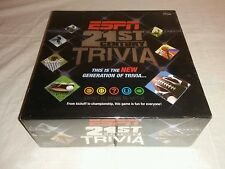 ESPN 21st Century Sports Trivia Game EW 2007 USAopoly Sealed NFL NBA MLB