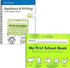 Handwriting Without Tears - My First School Book Pre-K SET Workbook & Guide