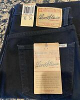 Levi Strauss Signature Men's Relaxed Fit Black Jeans 32x34 NWT