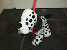 DALMATION DOG SOFT TOY PLUSH ON STIFF LEAD TO TAKE FOR WALKIES CRUELLA DE VILLE