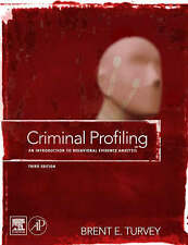 Criminal Profiling, Third Edition: An Introduction to Behavioral-ExLibrary