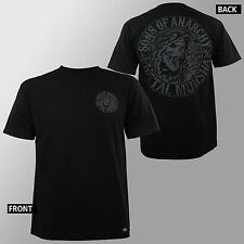 METAL MULISHA Sons Of Anarchy Collab Tee SOA Stamp Black T-Shirt M NEW