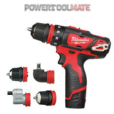 Milwaukee M12BDDX 12v Li-Ion Sub Compact Drill Driver - Naked - Body Only