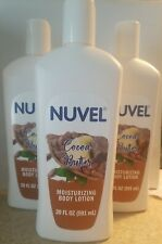 New listing 3x Nuvel Cocoa Butter Moisturizing Body Lotion 20 fl. oz Each (60 fl oz Total)