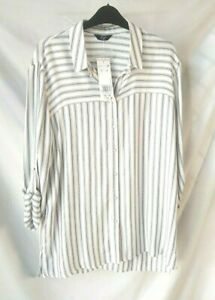 F&F stripe shirt top size 14 brand new with tags