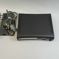 Microsoft Xbox 360 Original Gray Console & Cords Used
