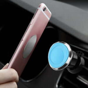 Car Front Air Vent Strong Magnetic Phone Solid Rotate Support Holder Accessories