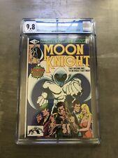 Moon Knight #1 - 1980 CGC 9.8 DOUBLE COVER 🤯(Origin MK 1st App Bushman)