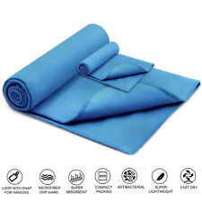 Microfibre Travel Towel Lightweight Fast Quick Drying Gym Camping Sport Beach