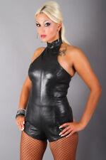 S12-B Erogance Echt Lamm Nappa Leder Body Anzug Lederbody Gr. L Doppelzipper NEU