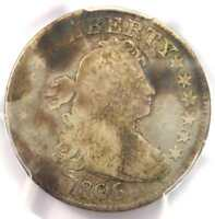 1806/5 Draped Bust Quarter 25C Coin - Certified PCGS VG Details - Rare Coin!