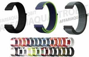 Cinturino Nylon Tessuto Amazfit Bip lite s u gtr 42mm gts 2 mini gts 2/2e