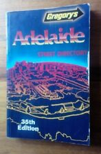 GREGORY'S ADELAIDE STREET DIRECTORY 35 TH. EDITION 1986.