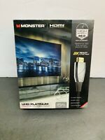 Monster Platinum UHD HD High Speed HDMI Cable W/ Ethernet 8K Ready 15 Ft