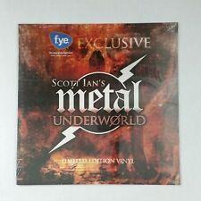 SCOTT IAN'S METAL UNDERWORLD Anthrax, Atilla, Toxic Holocaust LP Vinyl SEALED