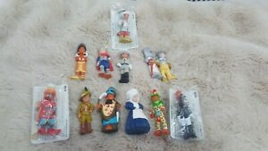 X12 Collectable Mondotime Historical Figurines, - Figures from History rare lot