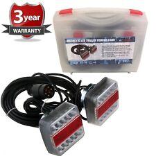 7.5 Metre LED 5 FUNCTION STRONG MAGNETIC TRAILER LIGHT BOARD SET CAR BOAT 7 PIN