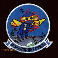 USS HORNET CVS-12 PATCH AIRCRAFT CARRIER US NAVY CVA CV PIN UP PILOT WING GIFT