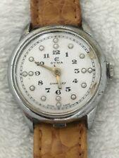 Cyma Vintage Braille Watch Cal R.444 - Working