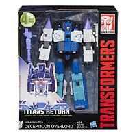 Transformers IDW Titans Return Leader Class DREADNAUT &DECEPTION OVERLORD Figure