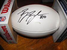 Ben Boulware Carolina Panthers NFL Authentic Autographed Game Ball