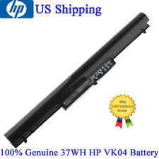 Genuine 37WH VK04 Battery 695192-001 HSTNN-YB4D for HP pavilion Sleekbook 14 15