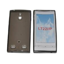 Cover for Sony Xperia P, silicone TPU clear Black