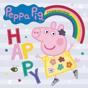 Peppa Pig - 2022 Calendario da Parete - Nuovo - 225083