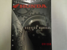 1998 Honda CR125R Service Repair Shop Factory Manual OEM CR125R NEW Book